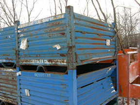 New Amp Used Steel Corrugated Containers