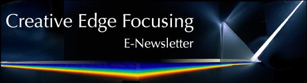 Creative Edge Focusing E-Newsletter