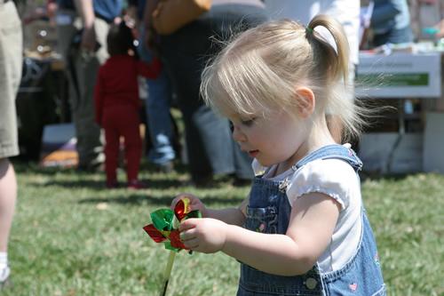 Omaha Earth Day Girl