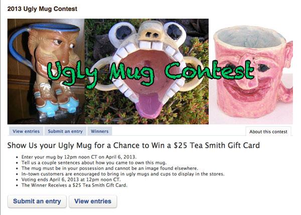Ugly Mug Contest 2013