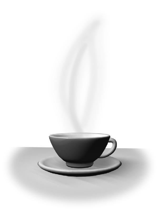 3d cup w/steam