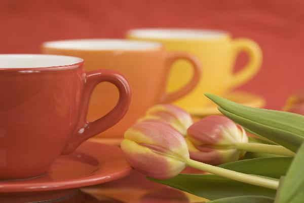 Blossom and cups