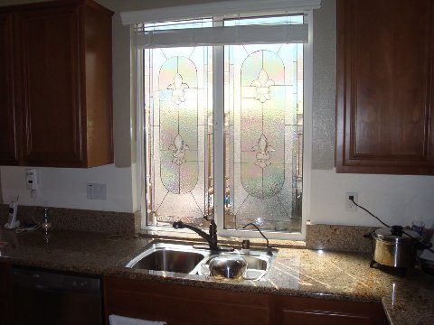 Stained Glass Window Kitchen