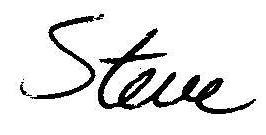 steve signature
