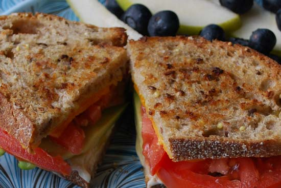 New Fashioned Grilled Cheese