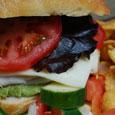 Ciabatta Chicken and Cheese Sandwich To-Go