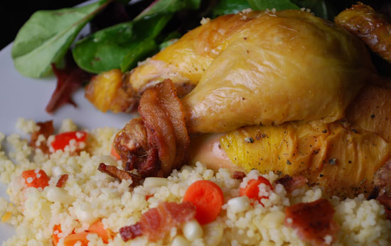 Cornish Game Hens for Two