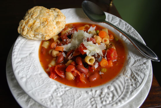 Truly Vegetarian Minestrone