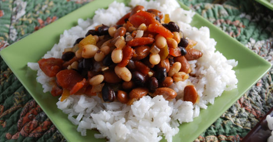 Chili Beans and Rice