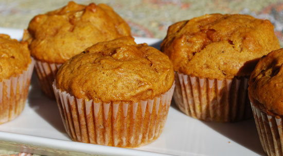 Pumpkin-Pear Muffins