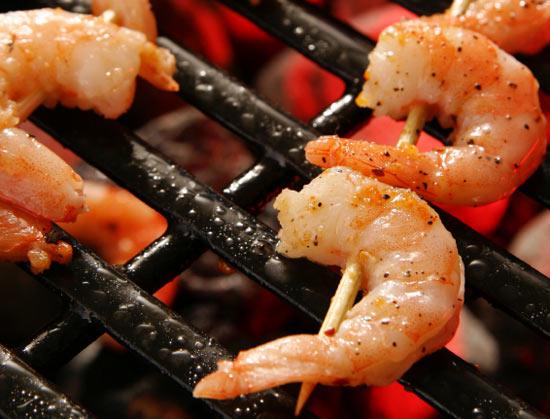 Grilled Shrimp Dijon