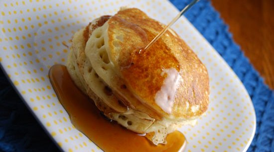Best Ever Light and Fluffy Pancakes