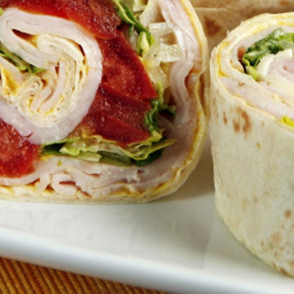 Turkey Provolone Wrap