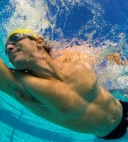 healthy swimmer