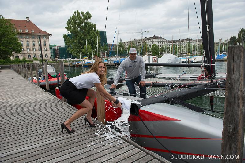 GC32 AND MISS SWITZERLAND MAKES LONG DISTANCE RACE DEBUT