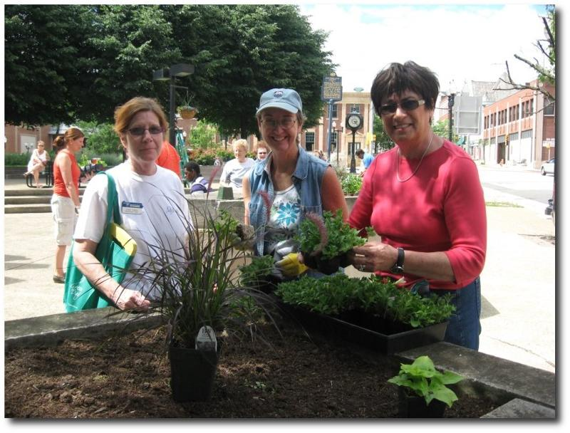 Westmoreland courthouse beautification