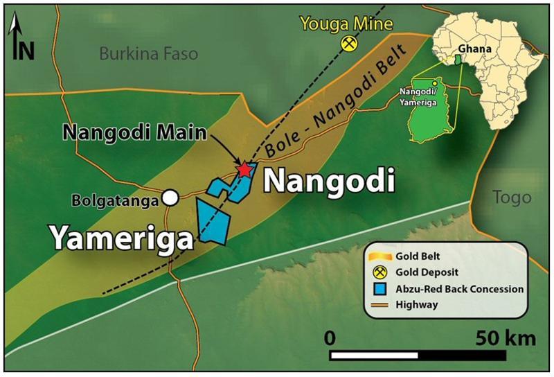 Nangondi Map