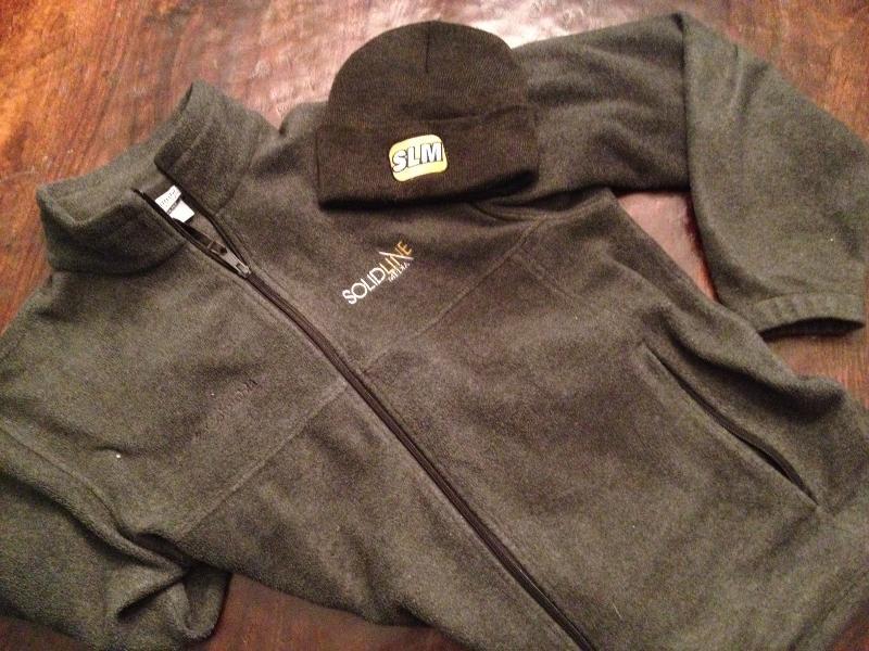 SLM Fleece jacket and hat