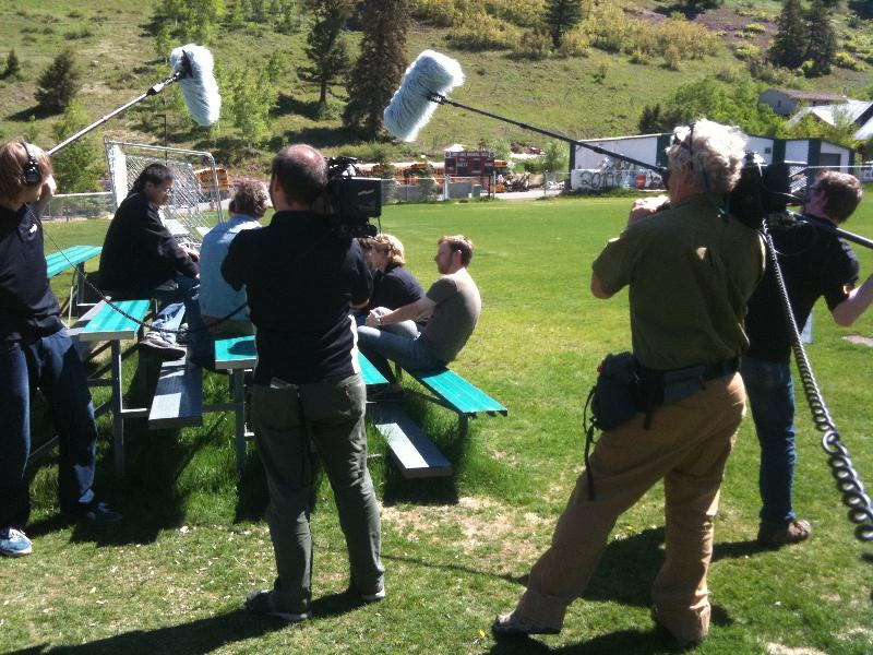 Filming in Telluride