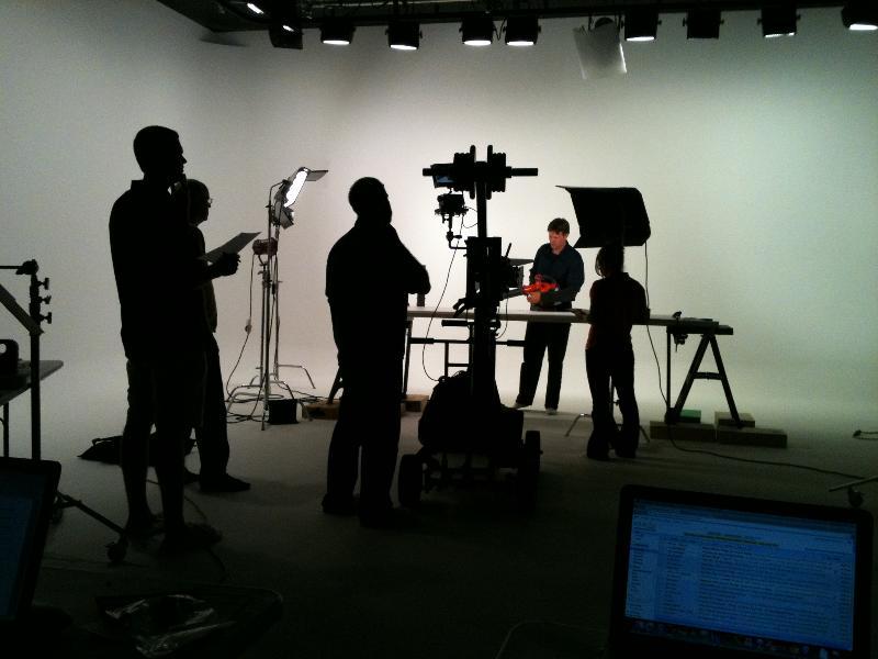 Soundstage Filming