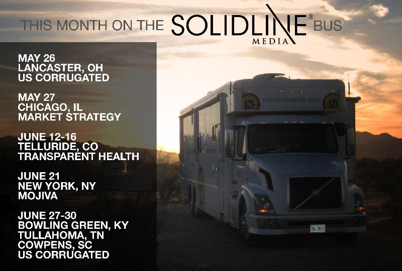 June SolidLine Travel Map