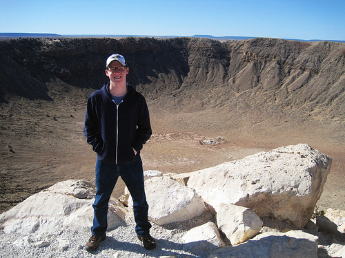 Dave Meteor Crater