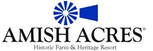Amish Acres Windmill Horizontal Logo