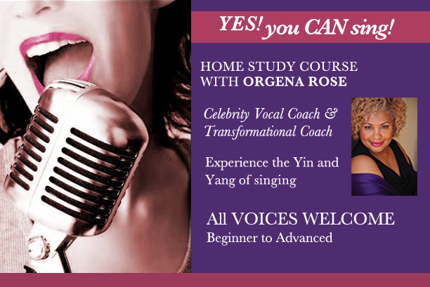 Yes You Can Sing Homestudy Program
