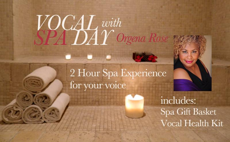 Vocal Spa Day