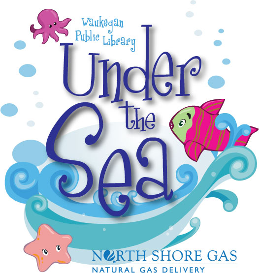 under the sea with logo