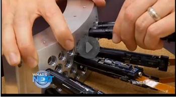 WNCN video of Duke Aqueti camera