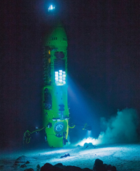 National Geographic photo of the DeepSea Challenger