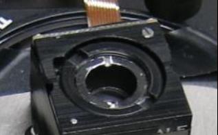 PHOTO... M3-FS Focus Module with commercial M12 lens