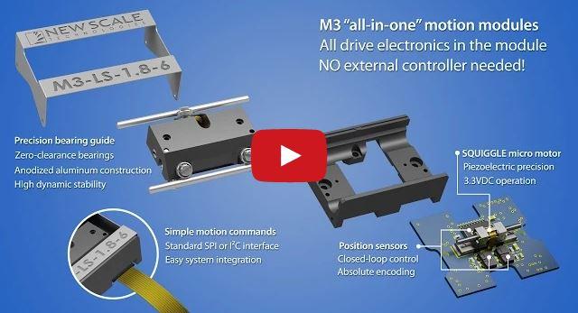 Micromechatronic module animation
