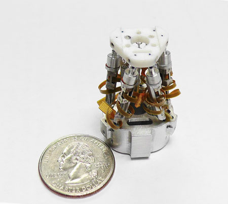 Micro Hexapod from New Scale