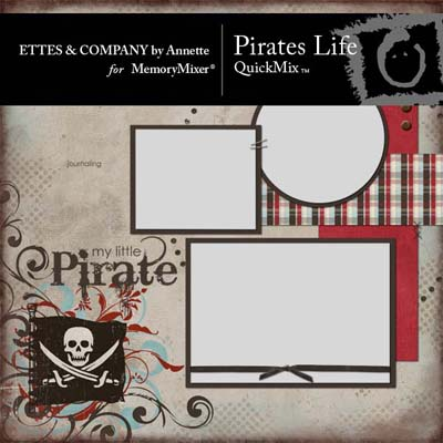 Pirates Life QuickMix for MemoryMixer