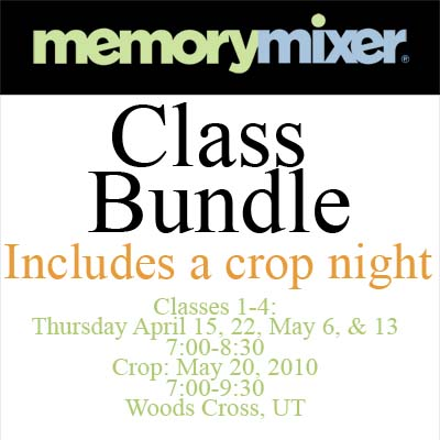 Digital Scrapbooking classes for MemoryMixer