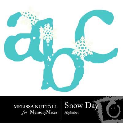 Snow Days Alphabet Pack