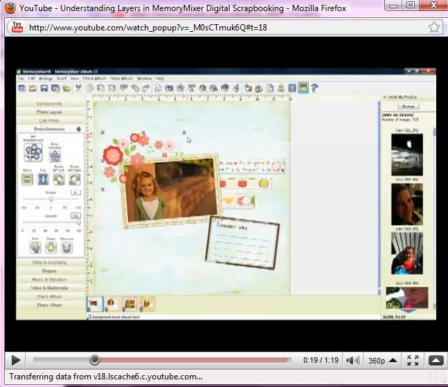 Layering tutorial on YouTube