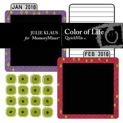 Color of Life QuickMix for MemoryMixer