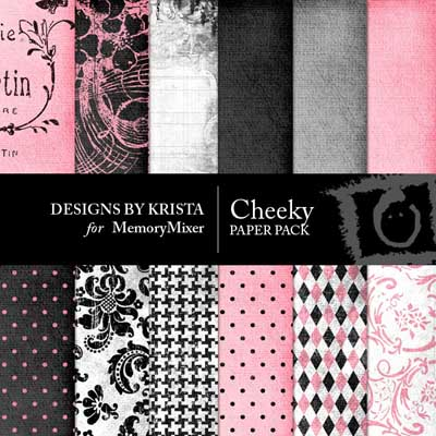 Cheeky Digital Background Papers
