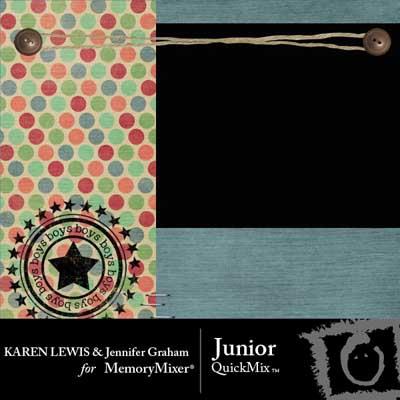 Junior QuickMix for MemoryMixer by Karen Lewis