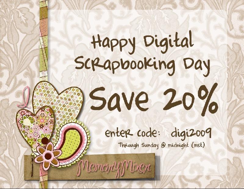 Happy Digital Scrapbooking Day