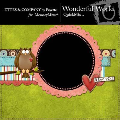 Wonderful World QuickMix for MemoryMixer
