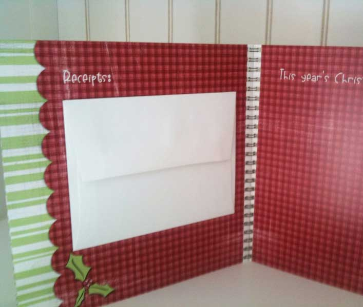 Christmas Planner Rec Page