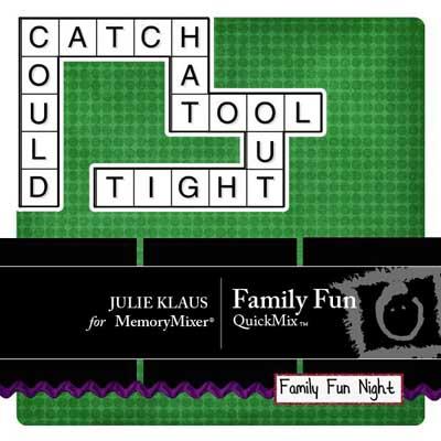 Family Fun QuickMix for MemoryMixer