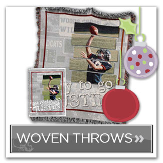 woven throw from memorymixer software
