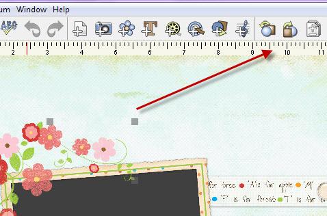 Using Layers in digital scrapbooking