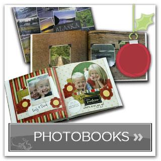 photo books created using MemoryMixer