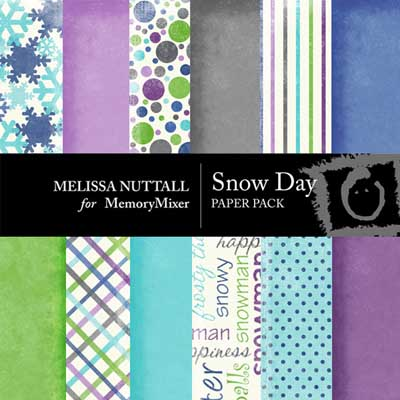 Snow Days Paper Pack